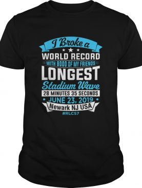 World Record Longest Stadium Wave T Shirt