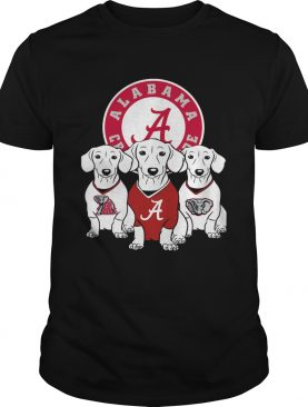 Alabama Crimson Tide Dachshund dog shirt