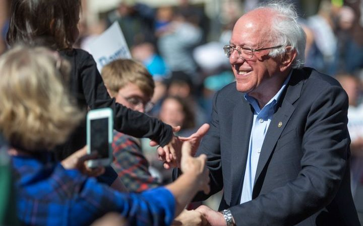 Bernie Sanders Is Hospitalized Raising Questions About His Candidacy
