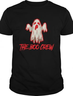 Boo Crew Halloween Fun Ghost shirt