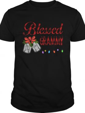 Christmas Blessed To Be Called Grammy TShirt