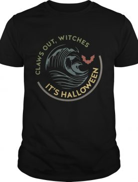 Claws out witches its Halloween vintage shirt