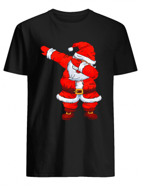 Dabbing Santa Christmas Boys Girls Kids Men Women Xmas Gifts T-Shirt
