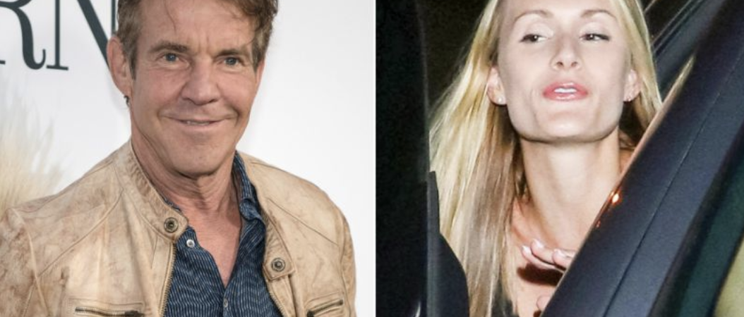 Dennis Quaid 65 is engaged to 26-year-old Laura Savoie; his 'Parent Trap' fiancée reacts