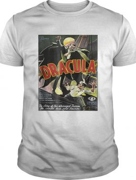 Dracula Monster Vintage Movie Poster Halloween shirt