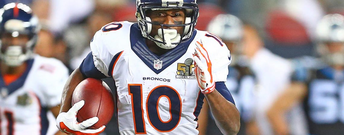 Emmanuel Sanders reacts to trade to 49ers looks back fondly at Broncos tenure