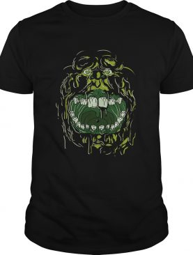 Ghostbusters Slimer Face Halloween Costume Graphic shirt