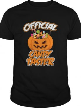 Halloween Hot Official Candy Taster Funny TShirt