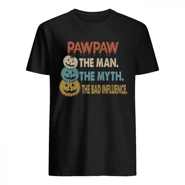 Halloween PawPaw The Man The Myth The Influence T-Shirt Classic Men's T-shirt