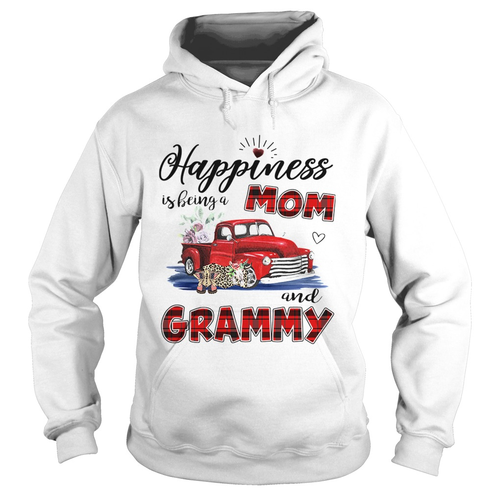 Happiness Is Being A Mom And Grammy Car Flower TShirt Hoodie