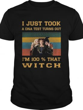 Hocus Pocus i just took a dna test turns out im 100 vintage shirt