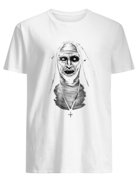 Hot evil demon nun Halloween shirt