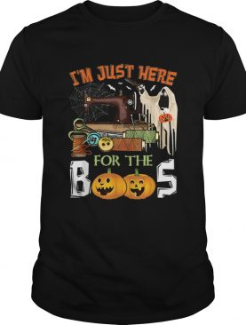 Im Just Here For The Boos Halloween Quilting shirt