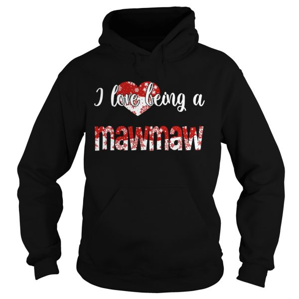 Merry Christmas I Love Being A Mawmaw Gift For Xmas TShirt Hoodie