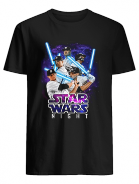 New York Yankees players Star Wars night shirt
