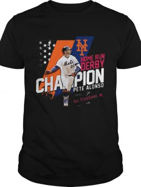 Pete Alonso home runs derby champion all star game shirt