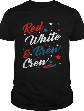 Red White Brew Crew Funny Drinking 4th Of July T-Shirt