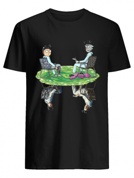 Rick and Morty Crossover Walter and Jesse Breaking Bad shirt