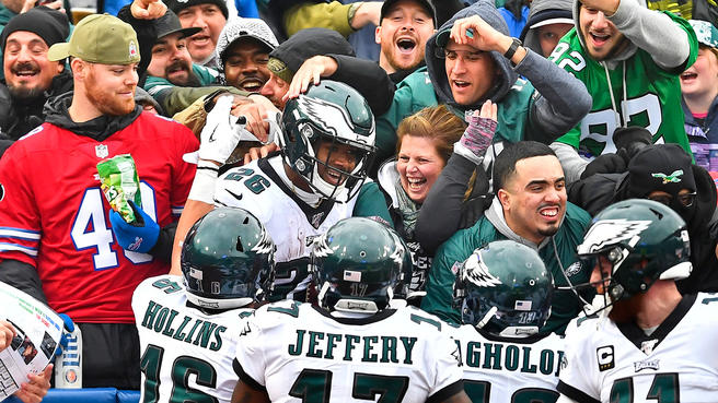 Roob's observations after Eagles right the ship with big win over Bills