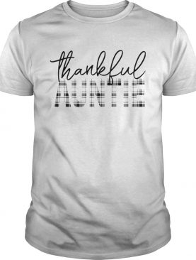 Thanksgiving Thankful Auntie Funny Mimi Gift TShirt