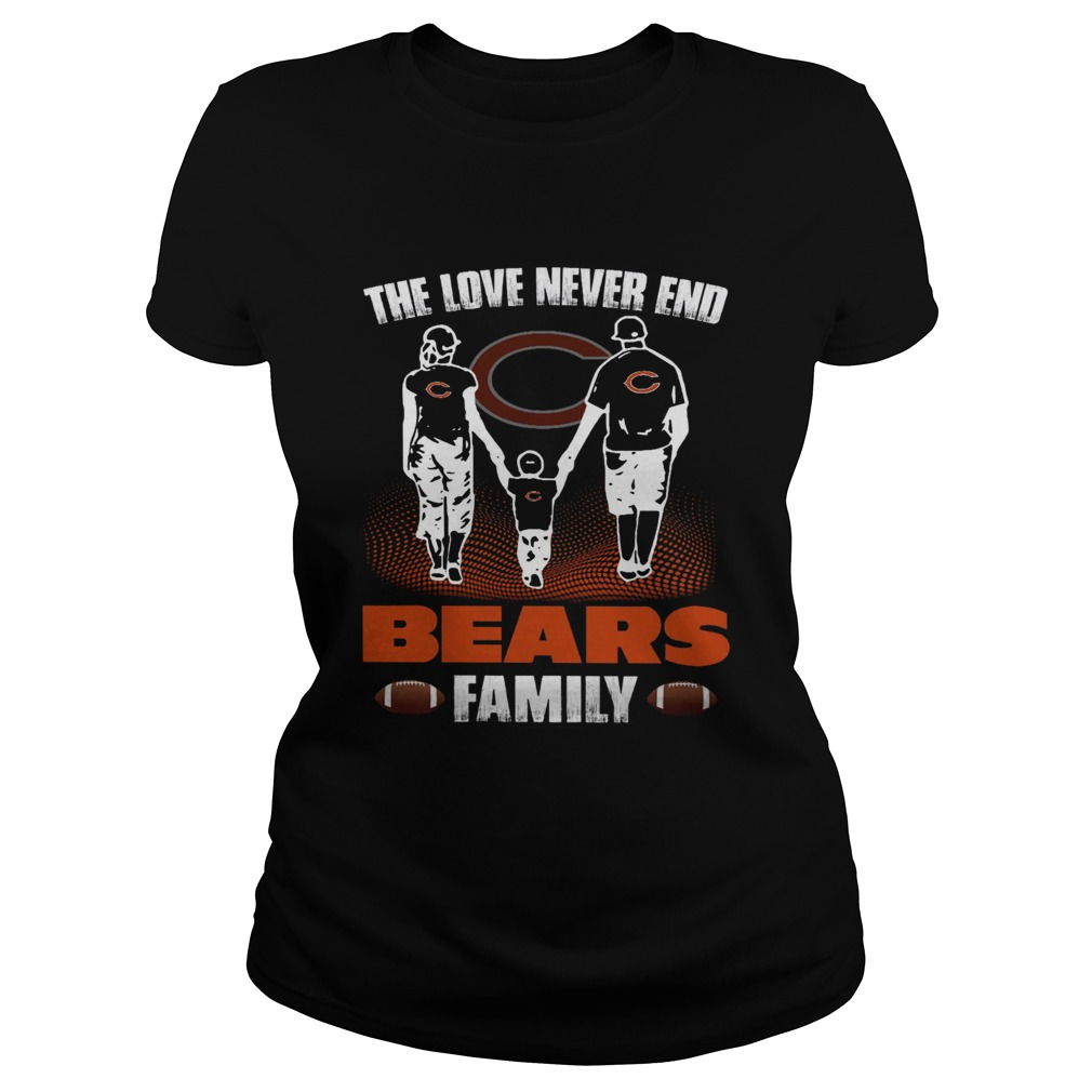 The love never end bears family Classic Ladies