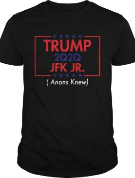 Trump 2020 JFK JR tee shirt