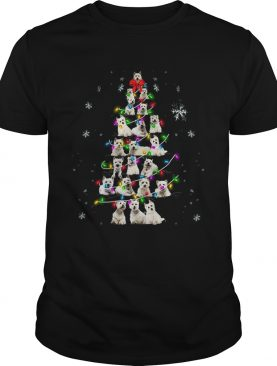 Westie Christmas Tree TShirt