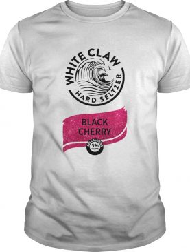 White claw hard seltzer Black Cherry shirt