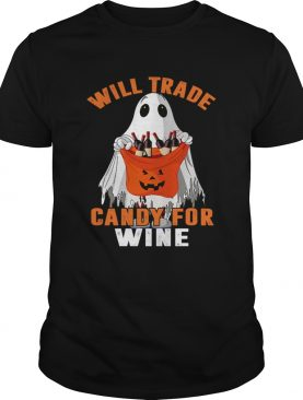 Will Trade Candy For Wine Funny Wine Lover TShirt