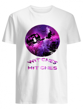 Witches With Hitches Funny Camping Halloween Gift shirt