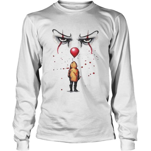 Youll float too Pennywise and Georgie t LongSleeve
