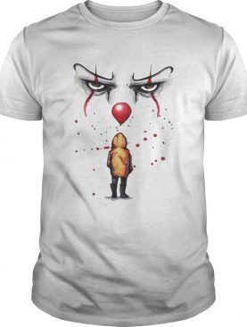 Youll float too Pennywise and Georgie tshirt
