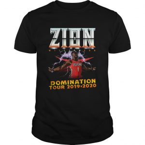 Zion Williamson Domination tour 2019 2020  Unisex