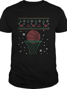Basketball Player Christmas shirt