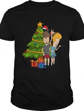 Beavis And Butthead Around The Christmas Tree shirt