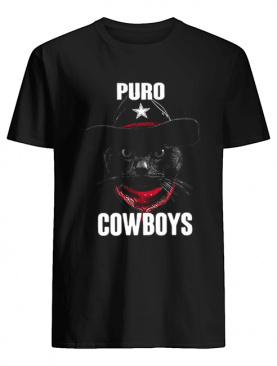 Black Cat Puro Cowboys shirt