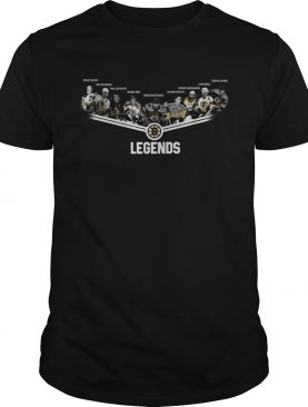 Boston Bruins Legends team signature shirt
