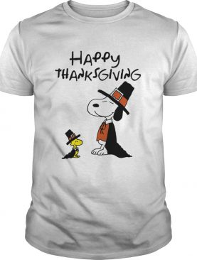 Charlie Brown Snoopy Happy Thanksgiving Graphic shirt