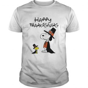 Charlie Brown Snoopy Happy Thanksgiving Graphic  Unisex