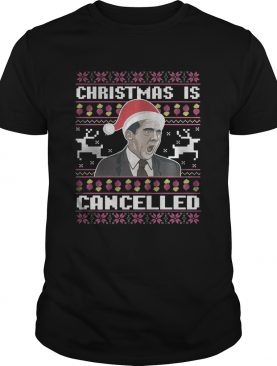 Christmas Is Cancelled Michael Scott shirt