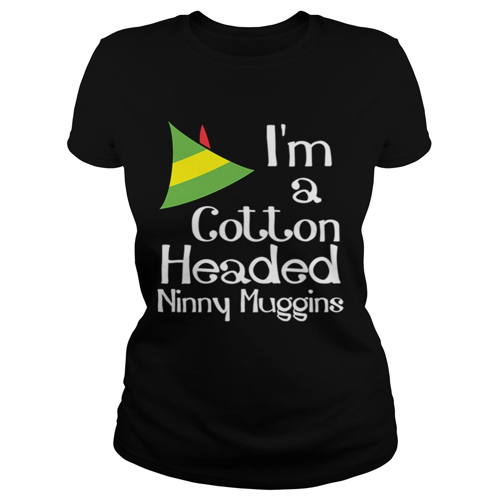Cotton Headed Ninny Muggins Buddy The Elf Hat Graphic Classic Ladies