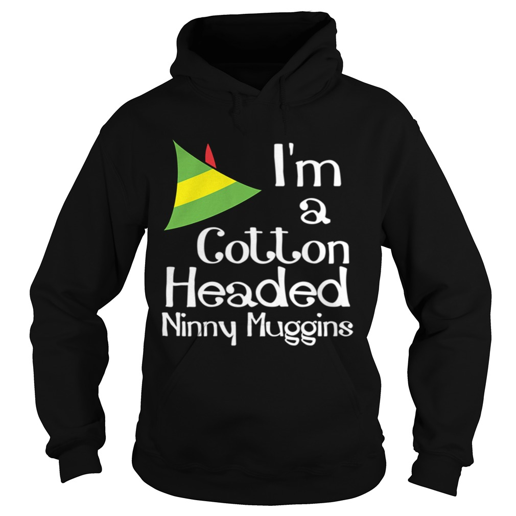 Cotton Headed Ninny Muggins Buddy The Elf Hat Graphic Hoodie