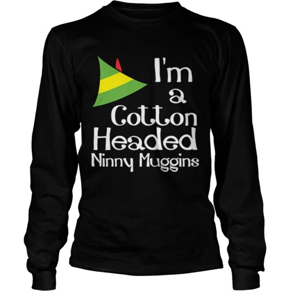 Cotton Headed Ninny Muggins Buddy The Elf Hat Graphic  LongSleeve