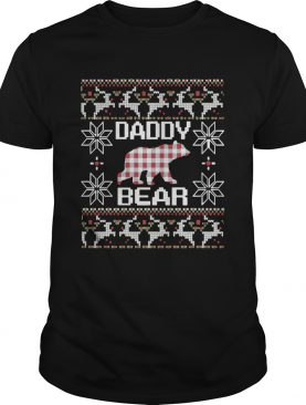 Daddy Bear Matching Family Season Ugly Christmas shirt