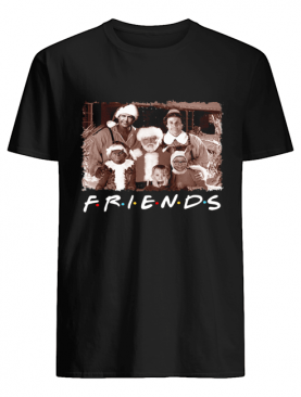 Friends Christmas holiday Grinch Elf Santa Clark Griswold Kevin shirt
