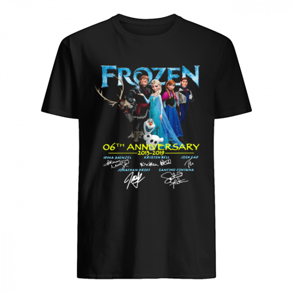 Frozen 06th anniversary 2013 2019 signatures  Classic Men's T-shirt