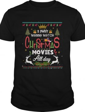 Funny Christmas Movie all day shirt