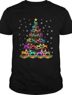 Horse Christmas Tree Candy Cane Gift shirt