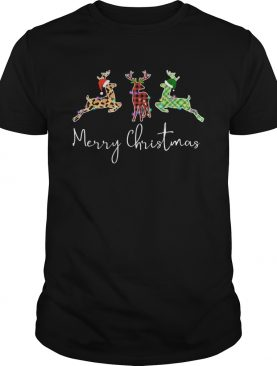 Hunting Leopard Merry Christmas shirt