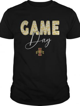 Iowa State Cyclones Game Day Leopard Team tshirt